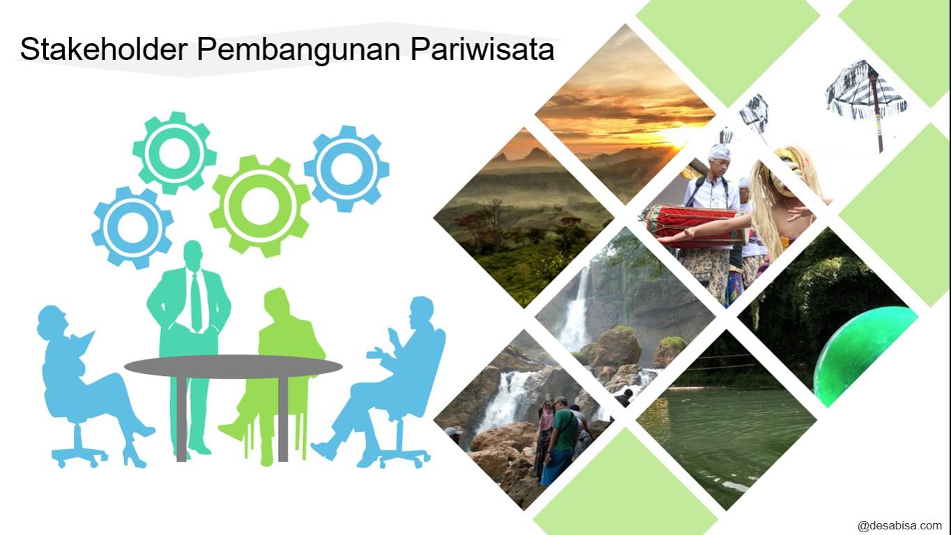 Stakeholder Pembangunan Pariwisata  Desa Bisa